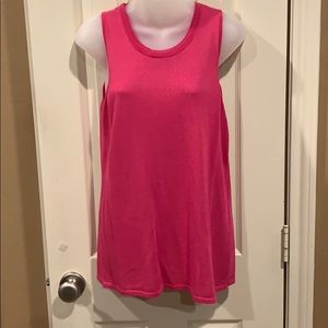 Pink shell/tank Chico's size 0 (XS)